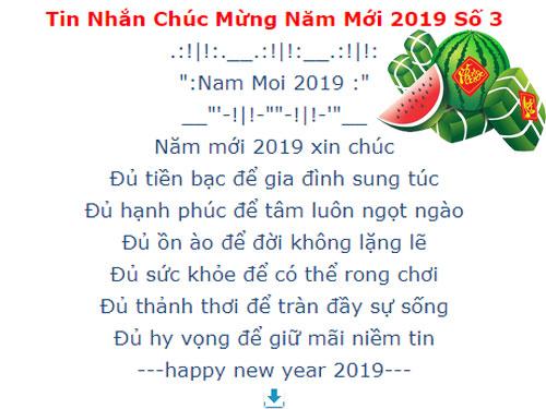 loi chuc tet nam 2019